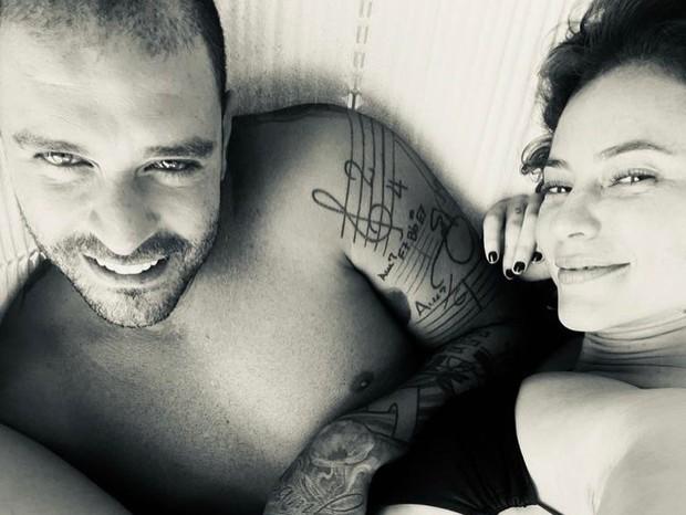 Paolla Oliveira e Diogo Nogueira  (Foto: Reprodução/Instagram)