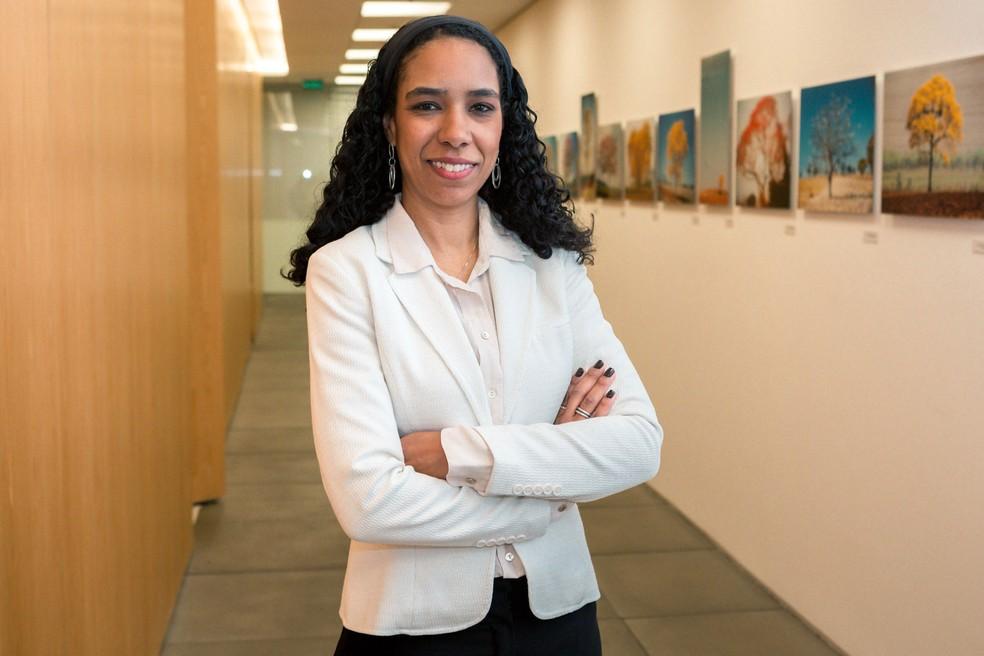 Roberta Silva, superintendente da área de gestão de produtos e serviços ao cliente do Itaú Unibanco. (Foto: Marcelo Brandt/G1)