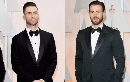 Adam Levine e Chris Evans