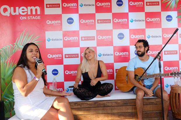 Fabiane Pereira, Duda Beat e Tomás Troia (Foto: Renato Wrobel/Ed. Globo)