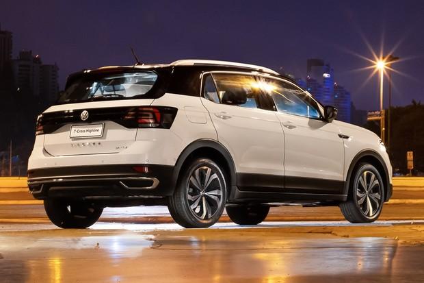 Volkswagen T-Cross Traseira Estática (Foto: Divulgação)