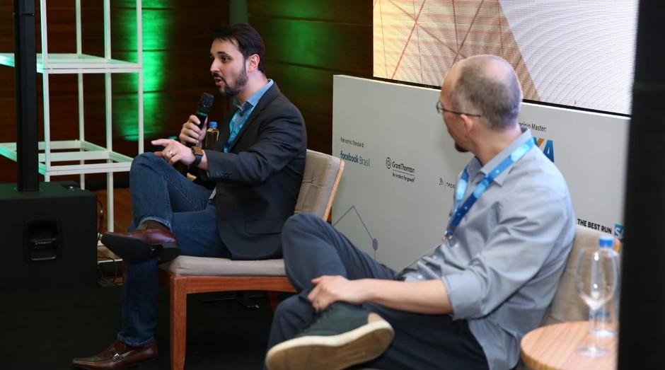 Thiago Rotta, Diretor de Inovação e Transformação Digital da Microsoft, em palestra vo Fice 2018  (Foto: Foto: Alexandre Dipaula)