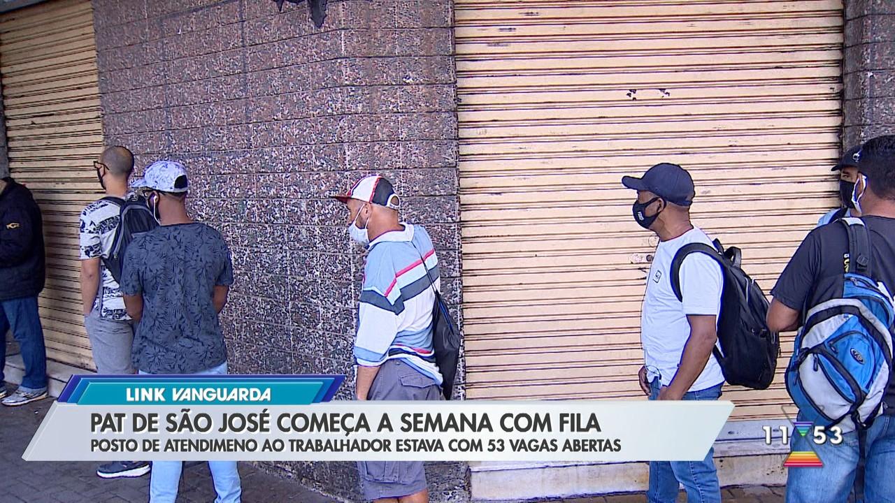PAT de São José dos Campos começa a semana com fila