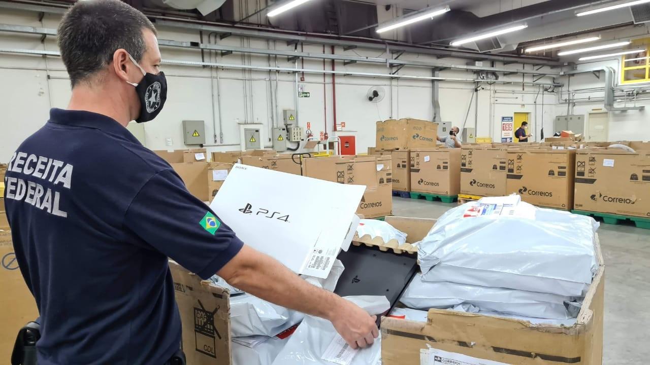 Receita Federal apreende R$ 1 milhão em mercadorias irregulares em Bauru