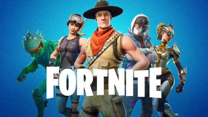 Fortnite caiu na graça dos jogadores e até de figuras famosas no ramo da música e dos esportes — Foto: Divulgação/Epic Games