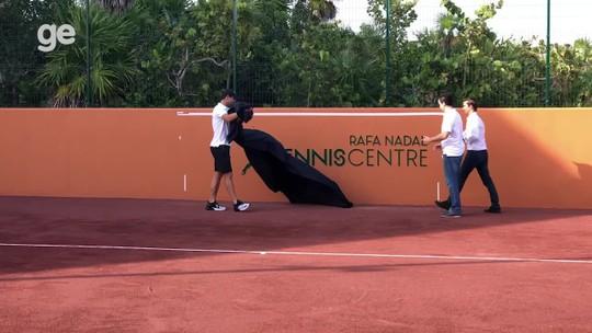 Rafael Nadal expande império de negócios e abre Centro de Tênis em hotel de luxo no México