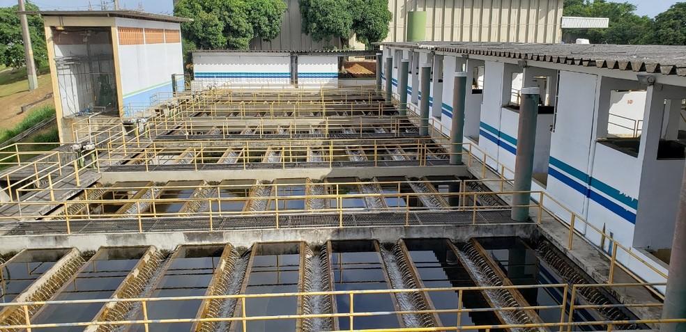 Complexo de Produção de Água da Ponta do Ismael — Foto: Divulgação