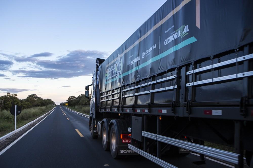 caminhos-da-safra-2019-caminhao-estrada-rodovia-transporte (Foto: Fernando Martinho/Ed.Globo)