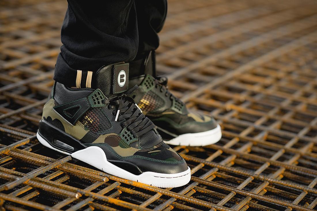 """O Nike Air Jordan 4 """"BAPE GORTEX"""", tênis da semana (Foto: Divulgação)"""