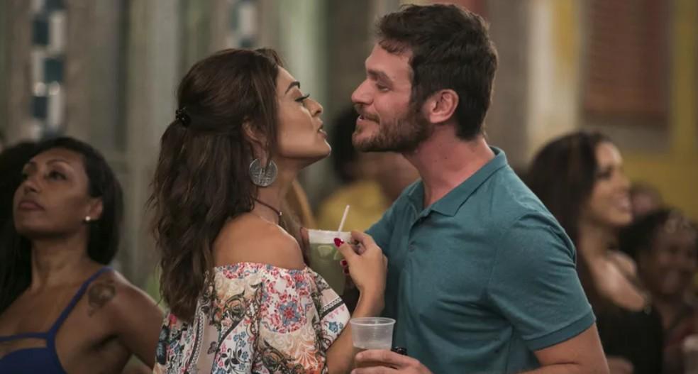 Bibi e Rubinho — Foto: TV Globo