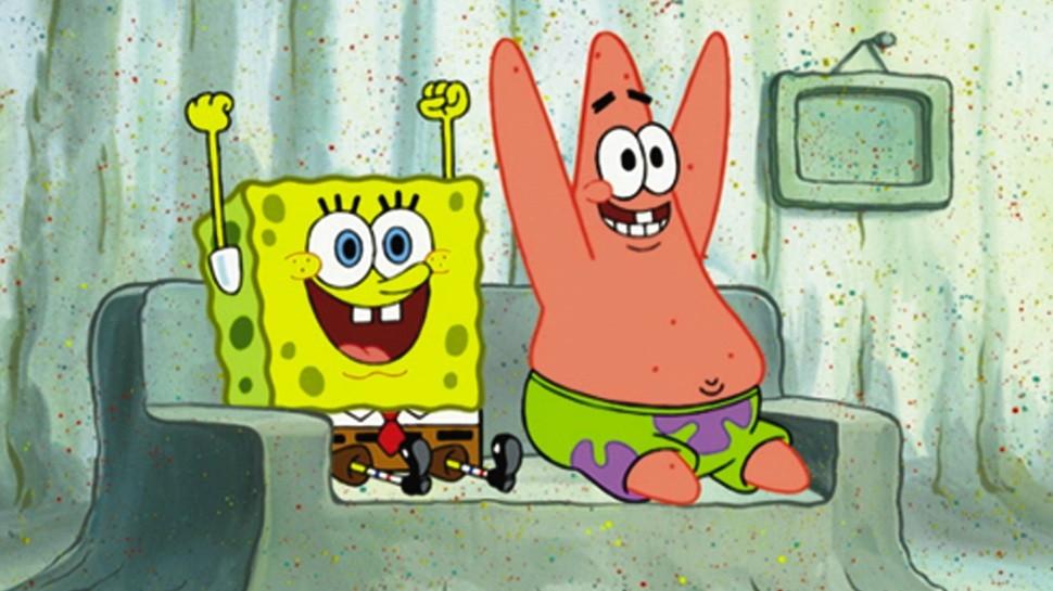 Bob Esponja Calça Quadrada e Patrick: grandes amigos (Foto: Reprodução)