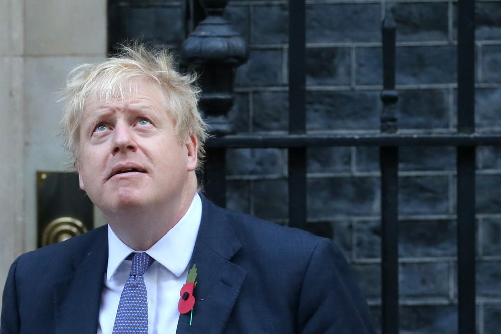 O premiê britânico, Boris Johnson, em foto de outubro de 2019 — Foto: Isabel Infantes/AFP