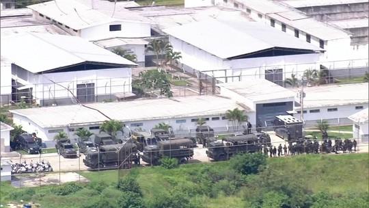 Forças Armadas fazem varredura em presídio após rebelião no RJ