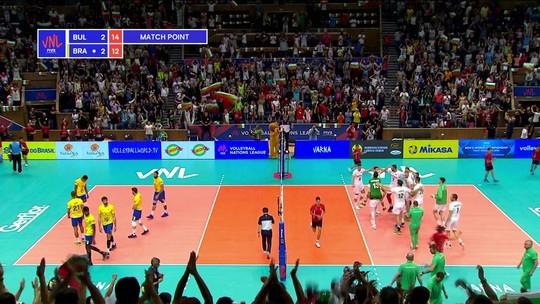 5º set - Bulgária fecha o set e o jogo em 3 x 2