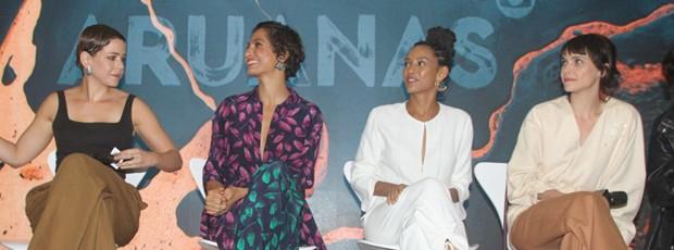 Leandra Leal, Camila PItanga, Taís Araújo e Débora Falabella (Foto: Brazil News / Amauri Nehn)