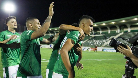 Foto: (Daniel Cheia - Rafael Fernandes/Guarani FC.)