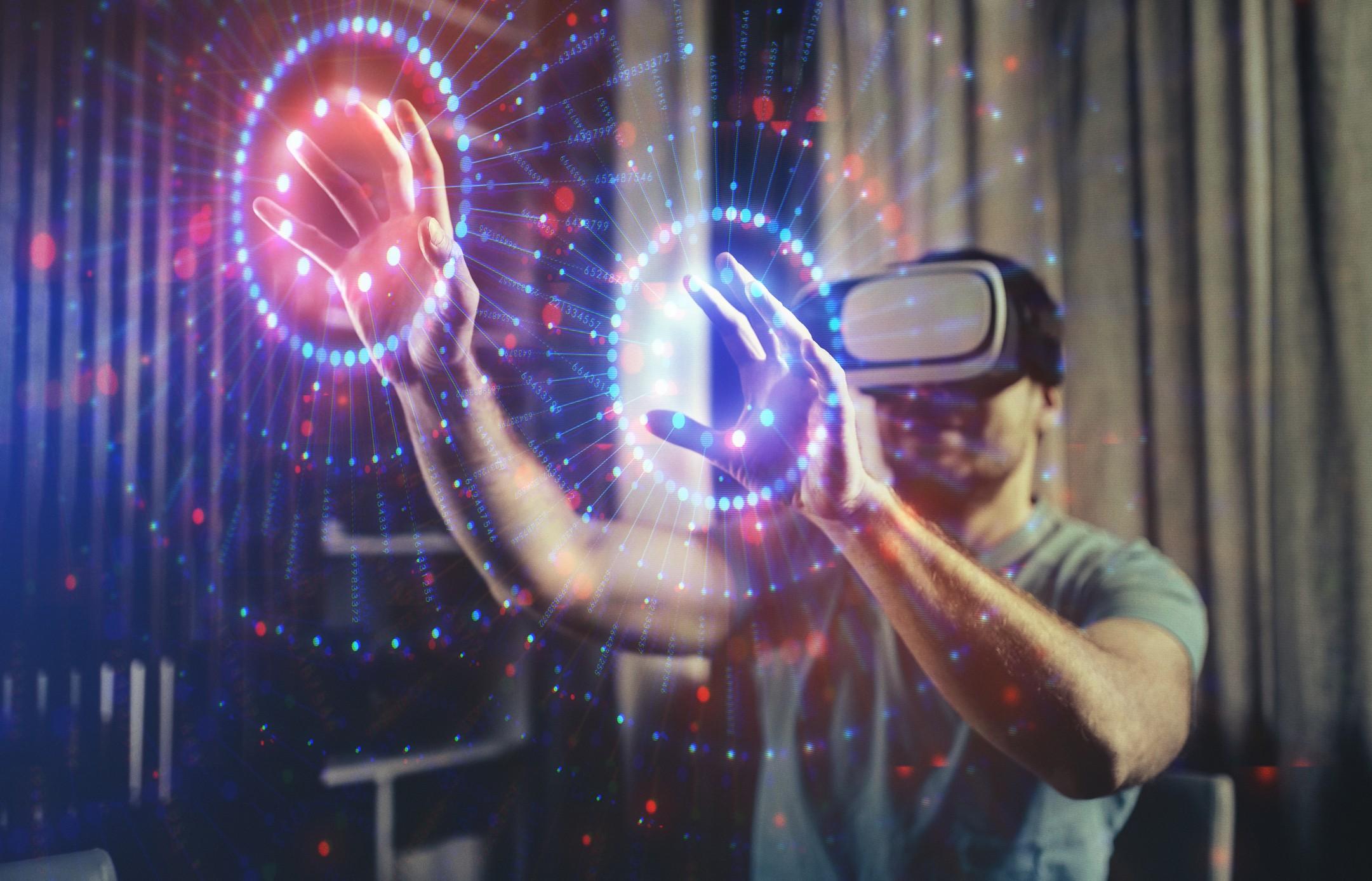 Realidade virtual e outras funcionalidades da computação imersiva são um importante eixo tecnológico (Foto: Getty Images)