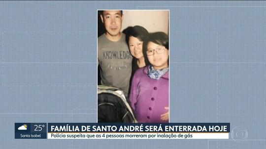 Corpos da família encontrada morta em Santo André são velados no ABC