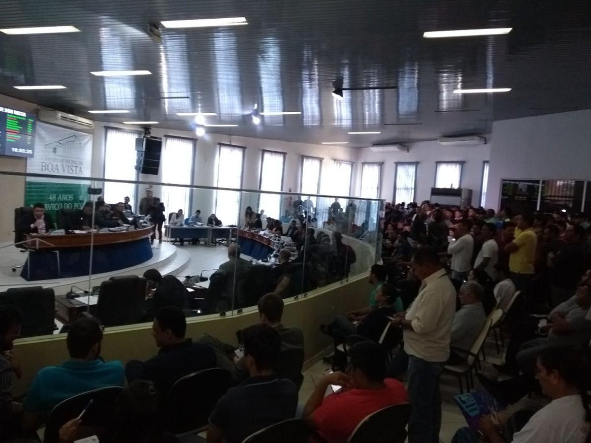 Vereadores de Boa Vista votam LOA e Plano Plurianual; matérias têm mais de 70 emendas