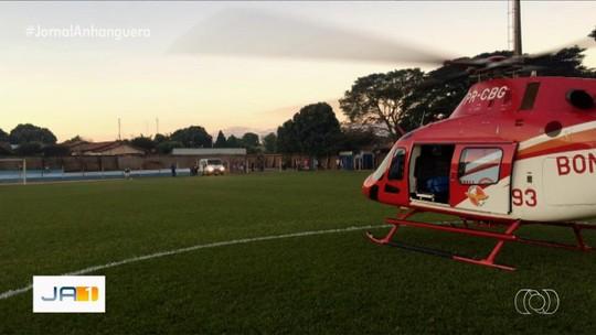 Bebê é resgatado após se intoxicar com querosene, em Bela Vista de Goiás