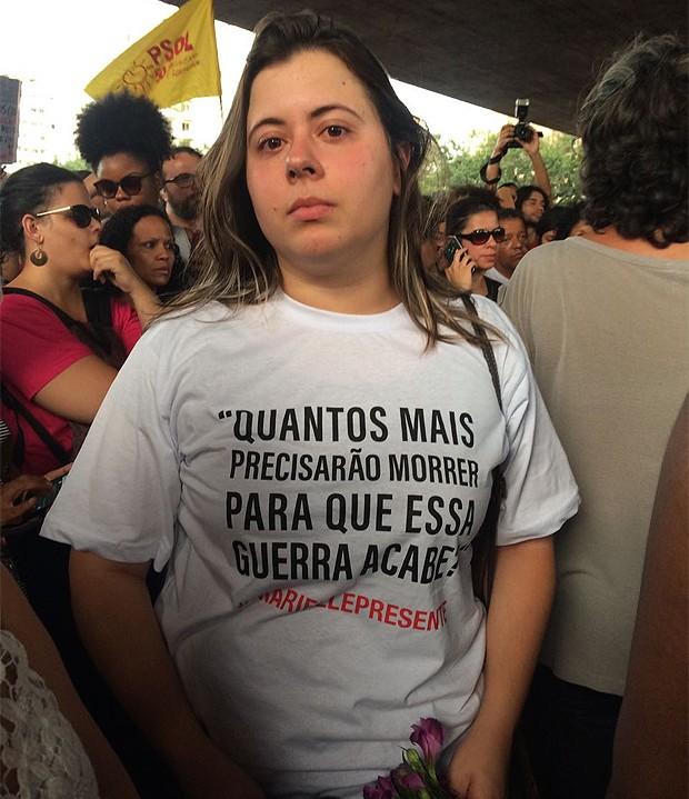 Sâmia Bomfim, vereadora do PSOL (Foto: Marie Claire)