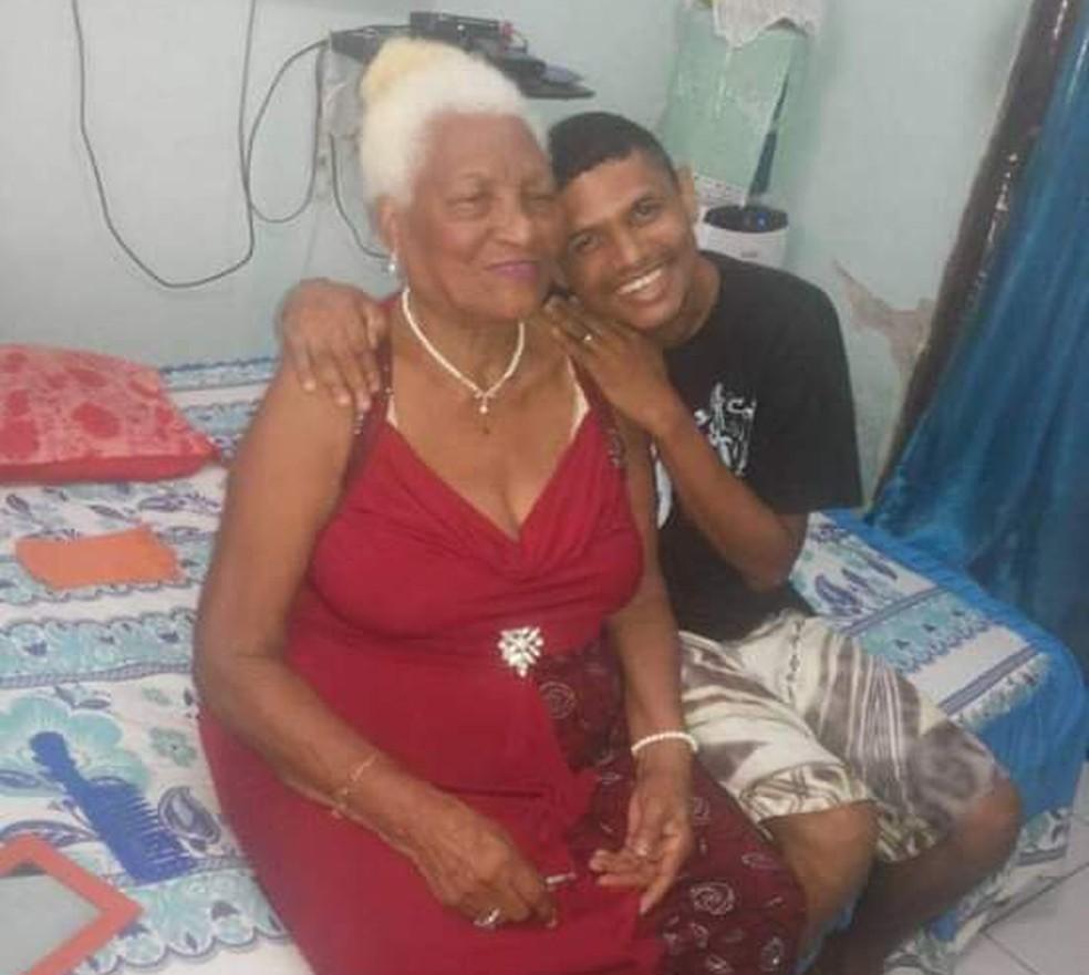 Homem foi criado por avó e familiares contam que, graças à ela, ele 'venceu na vida'. — Foto: Arquivo Pessoal