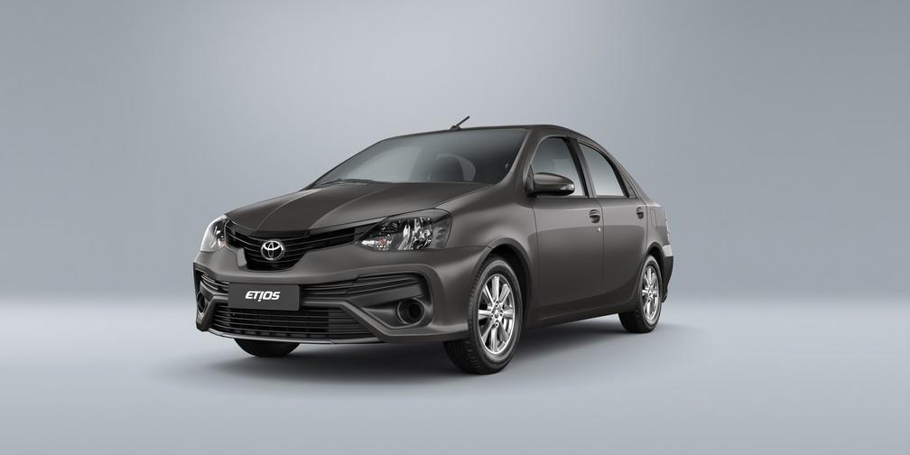 Toyota Etios 2019 (Foto: Divulgação)