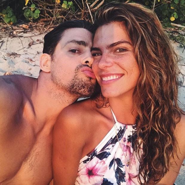 Cauã e Mariana (Foto: Reprodução / Instagram)