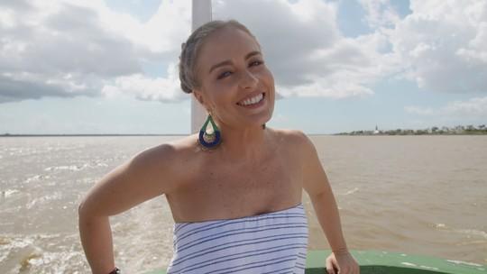 Angélica grava em Belém e se apaixona pela culinária paraense