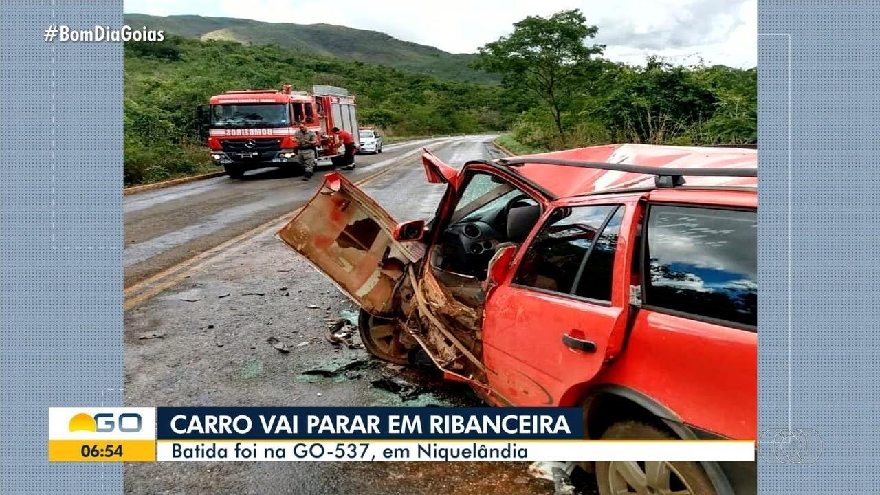 Acidente deixa cinco pessoas feridas em Niquelândia