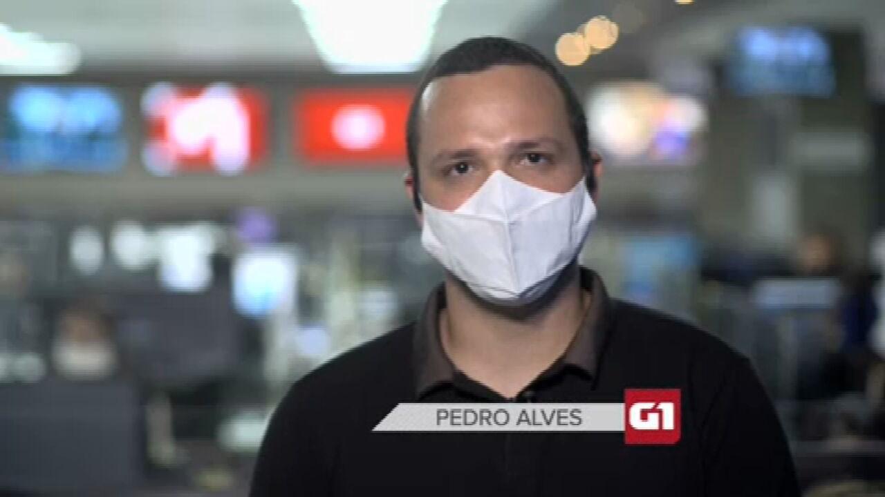 G1 em 1 Minuto: Ibaneis diz que vacinação para público geral no DF deve começar em abril