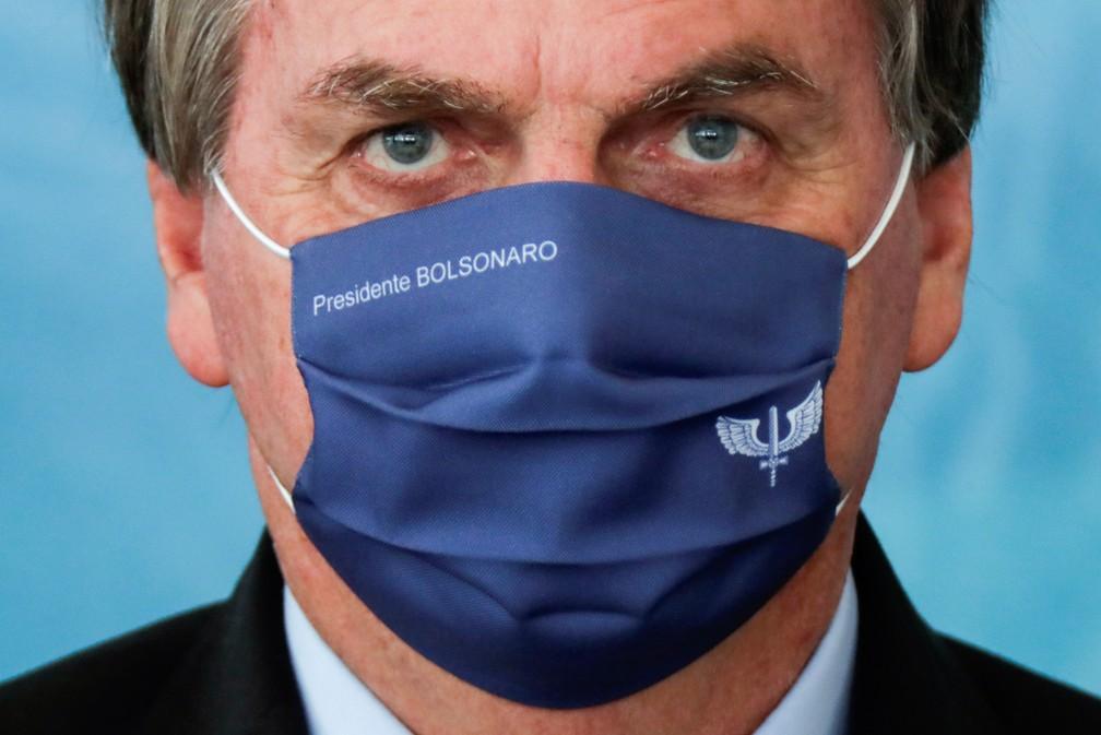 Jair Bolsonaro — Foto: REUTERS/Ueslei Marcelino