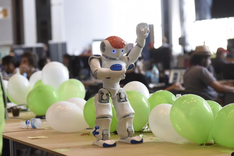 Robô apresentado na Campus Party 2017, em Brasília (Foto: CP/Divulgação)