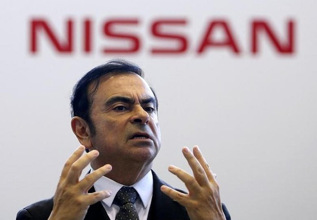 Carlos Ghosn, da Nissan (Foto: Yuya Shino/Reuters)