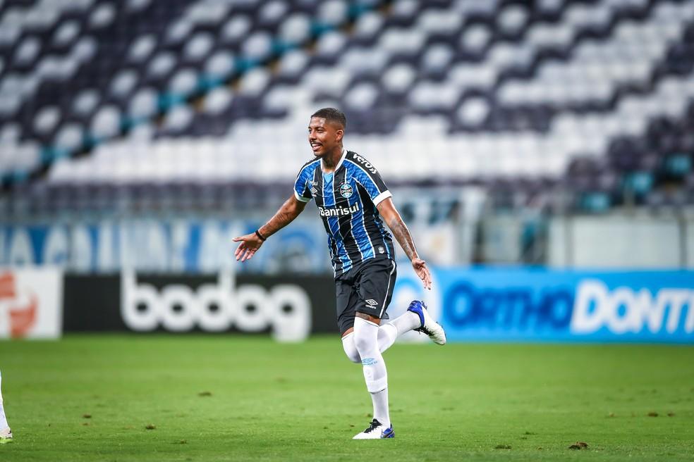 Jean Pyerre, o novo camisa 10 do Grêmio — Foto: Lucas Uebel/Divulgação Grêmio
