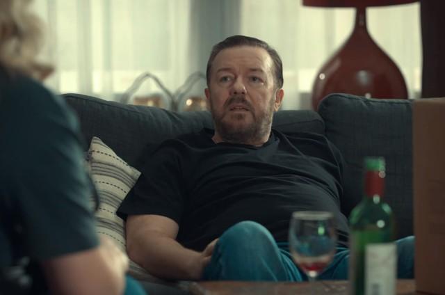 Ricky Gervais em 'After life' (Foto: Divulgação)