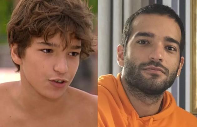 Humberto Carrão esteve em sua primeira novela aos 13 anos. Foi na temporada de 2004 da 'Malhação'. Hoje, o ator está escalado para viver o protagonista da série 'Rota 66' (Foto: Reprodução)