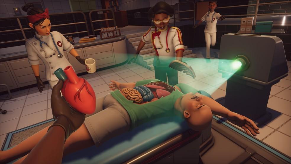 'Surgeon Simulator 2' reúne até quatro jogadores — Foto: Divulgação/Bossa Studios