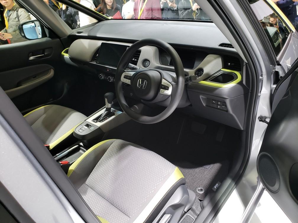 Interior of the new Honda Fit - Photo: Rafael Miotto / G1