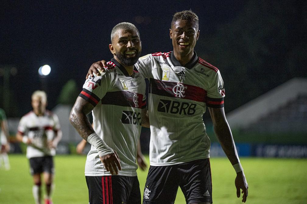 Flamengo vem de boa vitória sobre o Goiás: hora de engrenar — Foto: Alexandre Vidal / Flamengo