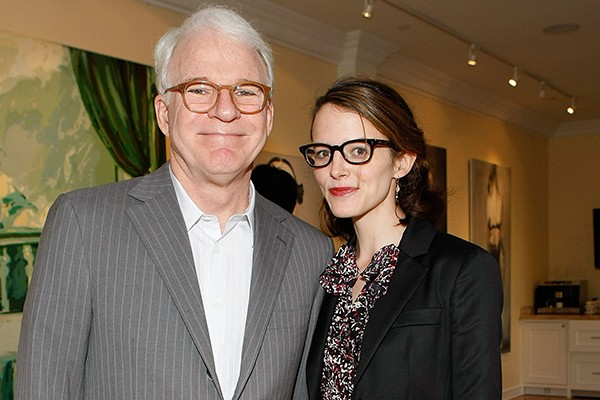 Steve Martin e Anne Stringfield (Foto: Getty Images)