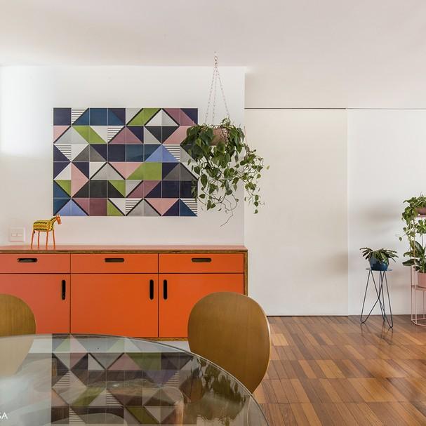 Azulejo tipo quadro (Foto: Histórias de Casa)