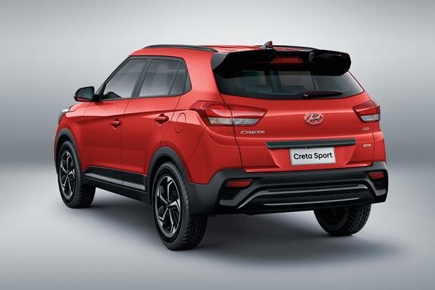 Hyundai Creta Sport 2019 (Foto: divulgação)
