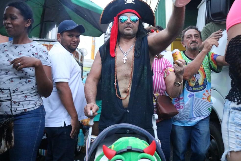 Capote da Madrugada, em Teresina - Piauí — Foto: Lucas Pessoa/ G1 PI