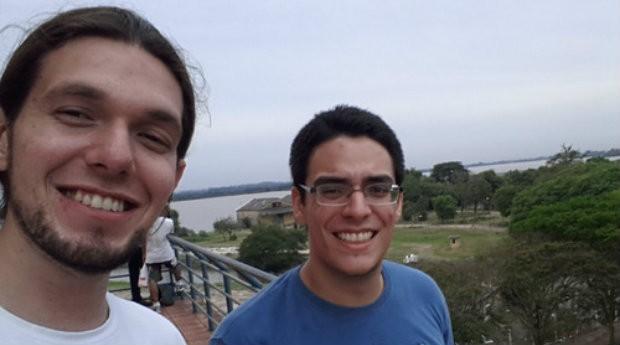 João Brant e Lucas Mattos, fundadores do estúdio Long Hat House (Foto: Divulgação)