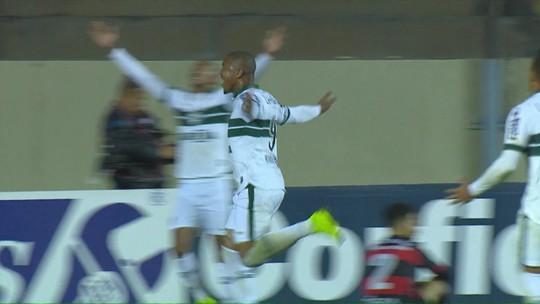 Rodrigão volta a marcar, e Juan Alano faz golaço na vitória do Coritiba contra o Oeste