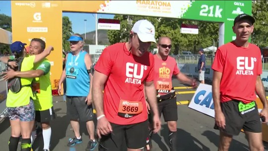 """Após vencer câncer, Erick renasce com a corrida: """"Há vida depois do pesadelo"""""""