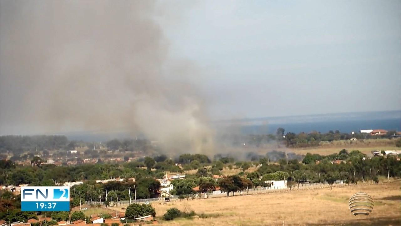 Região de Prudente registra 145 ocorrências de incêndio