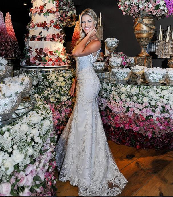 Vestido de noiva de famosas (Foto: Reprodução Instagram)
