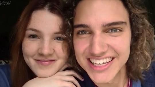 Jeniffer Oliveira e Tom Karabachian comentam cena romântica e torcida para o casal #Florito!